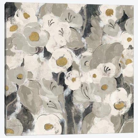 Velvety Florals Neutral III Canvas Print #WAC4292} by Silvia Vassileva Canvas Artwork