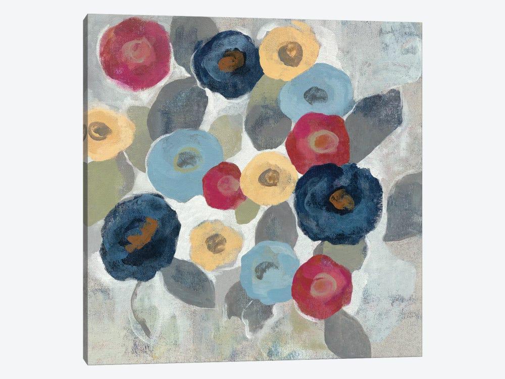 Winter Flowers II by Silvia Vassileva 1-piece Canvas Art