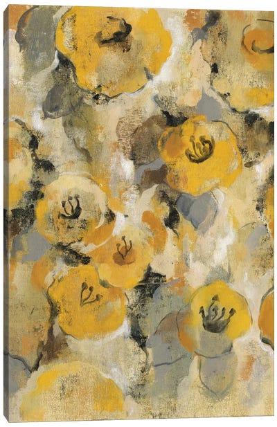 Yellow Floral II Canvas Print #WAC4299