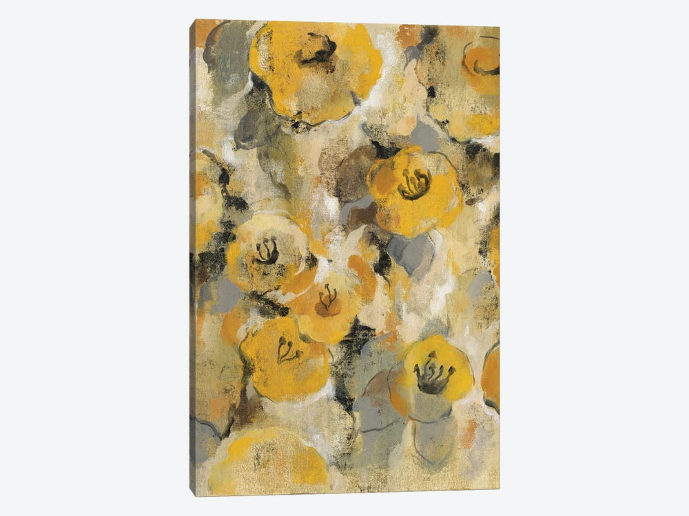 Yellow Floral II by Silvia Vassileva 1-piece Art Print