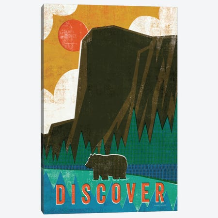Big Sky IV Canvas Print #WAC4303} by Michael Mullan Canvas Art