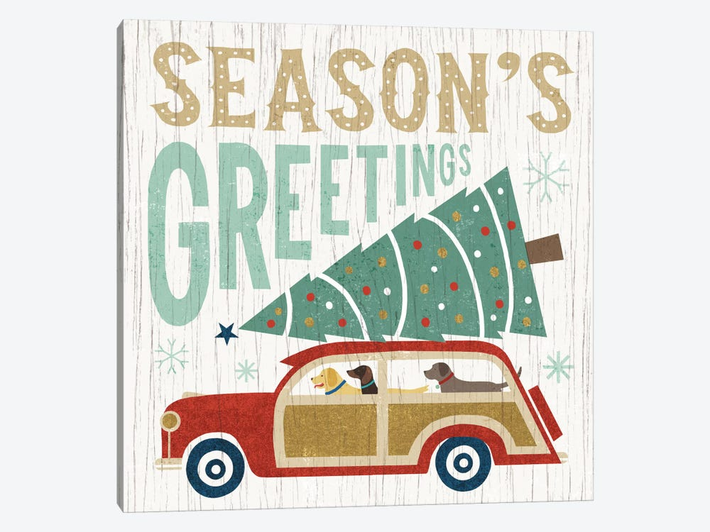 Season's Greetings by Michael Mullan 1-piece Art Print