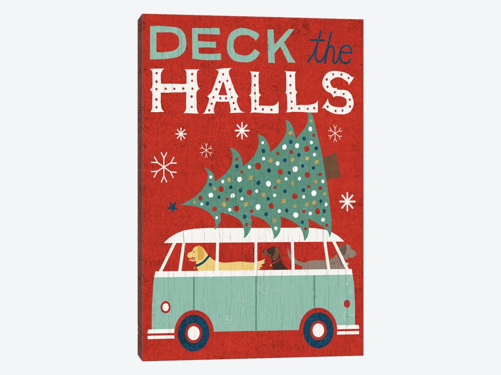 Deck The Halls by Michael Mullan 1-piece Canvas Art