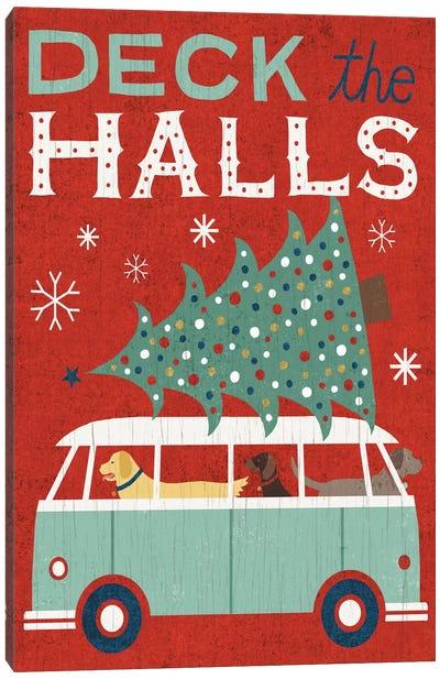 Deck The Halls Canvas Art Print