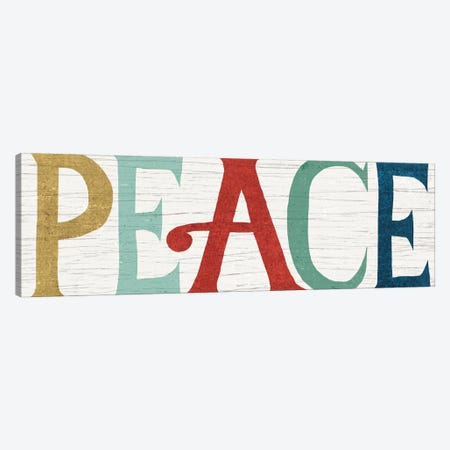 PEACE Canvas Print #WAC4309} by Michael Mullan Canvas Art