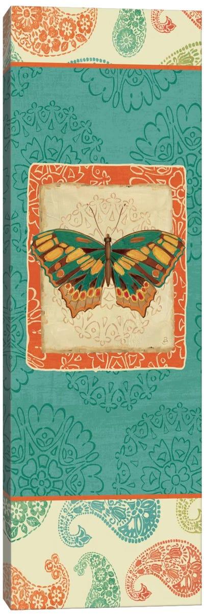 Folk Floral V  Canvas Print #WAC430