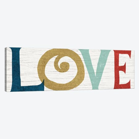 LOVE Canvas Print #WAC4310} by Michael Mullan Canvas Art Print