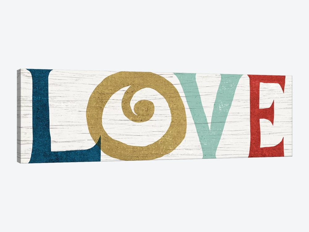 LOVE by Michael Mullan 1-piece Canvas Print
