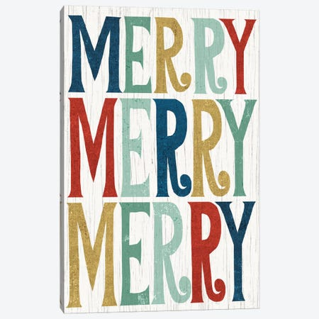 Merry, Merry, Merry Canvas Print #WAC4312} by Michael Mullan Canvas Print