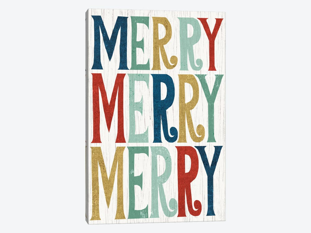 Merry, Merry, Merry by Michael Mullan 1-piece Canvas Print