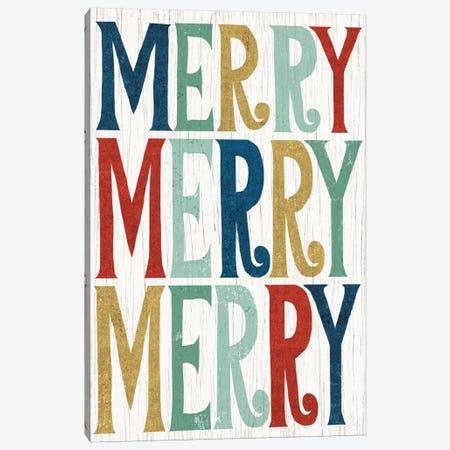 Merry, Merry, Merry Canvas Print #WAC4312} by Michael Mullan Canvas Print