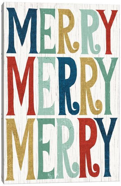 Merry, Merry, Merry Canvas Art Print