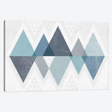 Mod Triangles II.A Canvas Print #WAC4319} by Michael Mullan Canvas Art Print