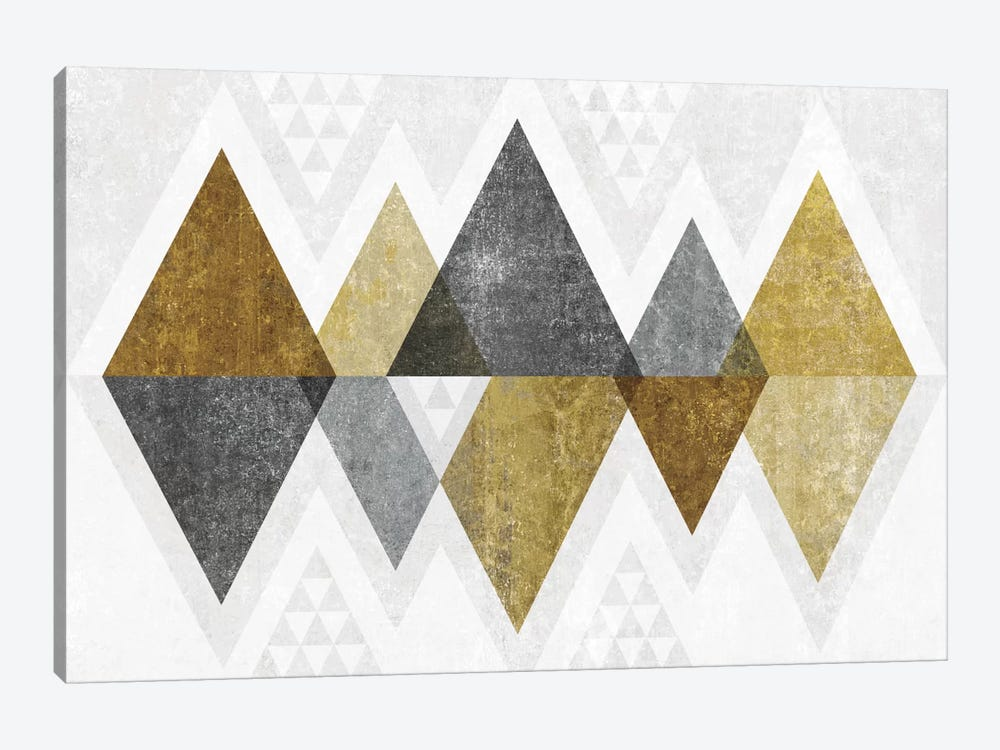 Mod Triangles II.B by Michael Mullan 1-piece Canvas Artwork