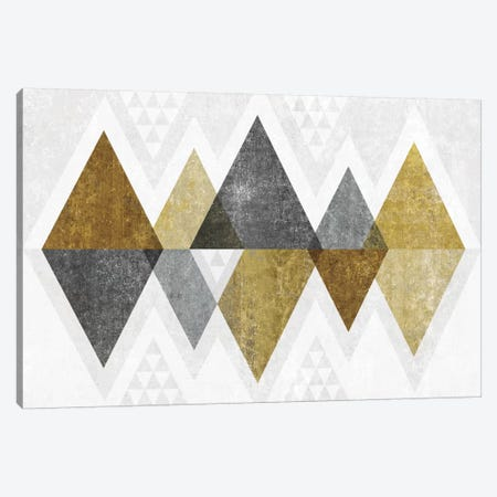 Mod Triangles II.B 3-Piece Canvas #WAC4320} by Michael Mullan Canvas Art