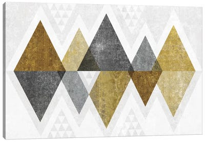 Mod Triangles II.B Canvas Art Print