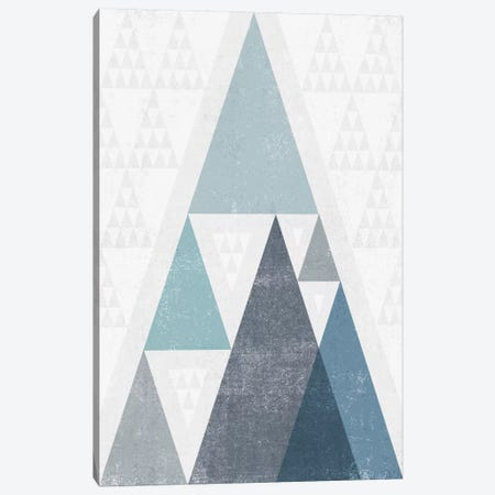 Mod Triangles III.A Canvas Print #WAC4321} by Michael Mullan Canvas Art