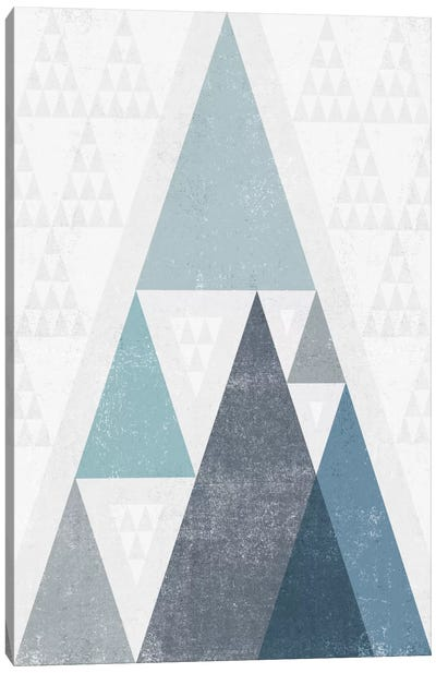 Mod Triangles III.A by Michael Mullan Canvas Art