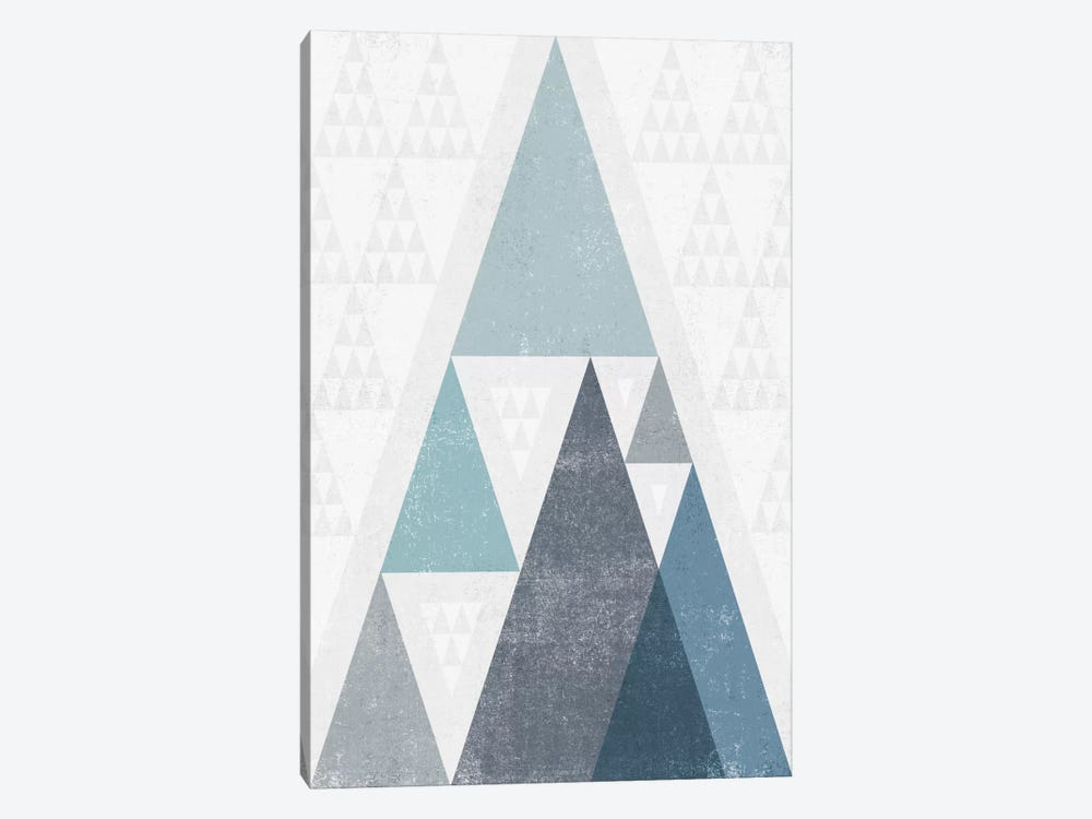 Mod Triangles III.A by Michael Mullan 1-piece Canvas Print