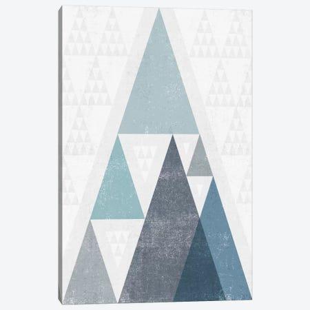 Mod Triangles III.A Canvas Print #WAC4321} by Michael Mullan Canvas Art