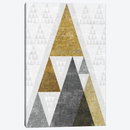 Mod Triangles III.B Canvas Print #WAC4322} by Michael Mullan Canvas Artwork