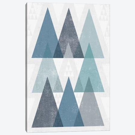 Mod Triangles IV.A Canvas Print #WAC4324} by Michael Mullan Art Print