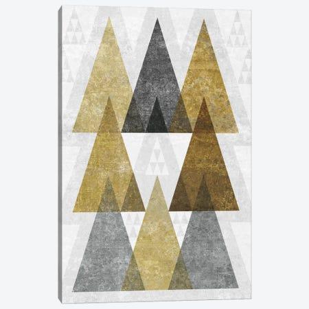 Mod Triangles IV.B Canvas Print #WAC4325} by Michael Mullan Canvas Print