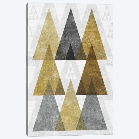Mod Triangles IV.B Canvas Print #WAC4325} by Michael Mullan Canvas Print