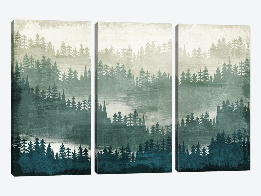 Mountainscape I by Michael Mullan 3-piece Canvas Artwork