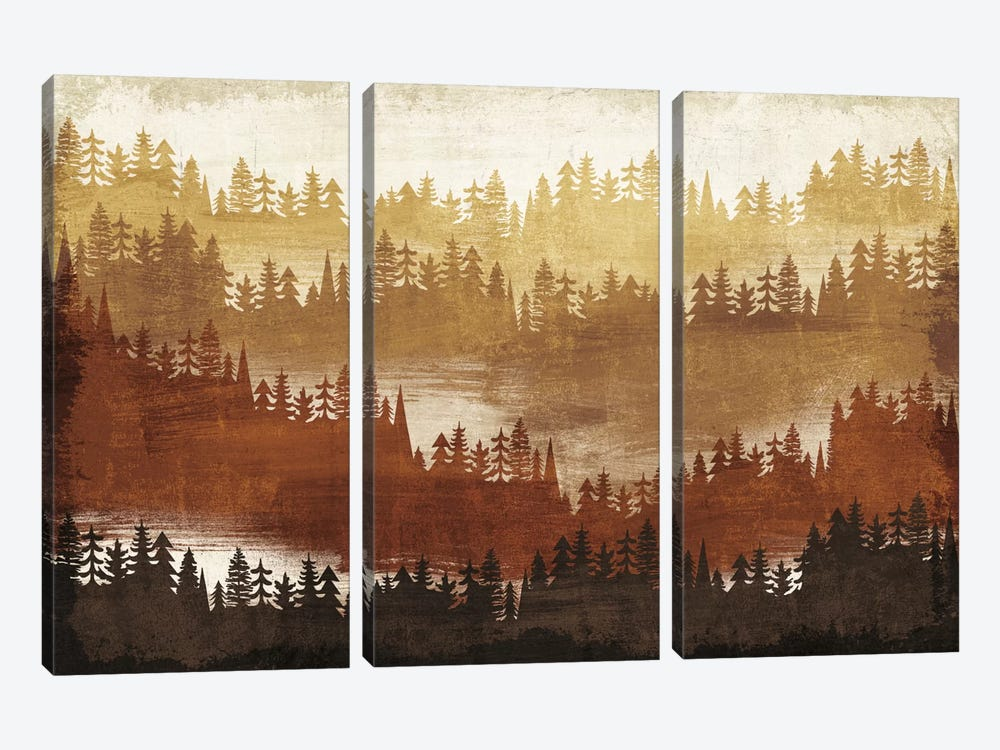 Mountainscape IV by Michael Mullan 3-piece Canvas Art Print