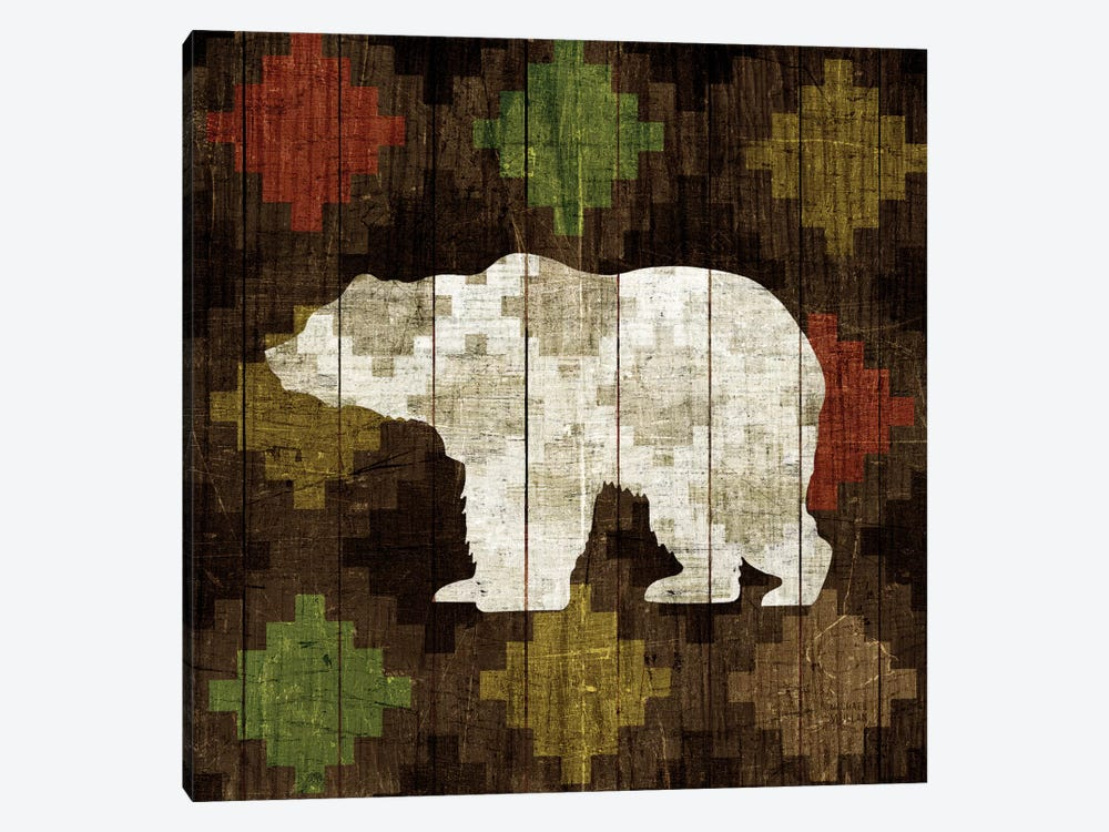 Southwest Lodge (Bear) by Michael Mullan 1-piece Canvas Print