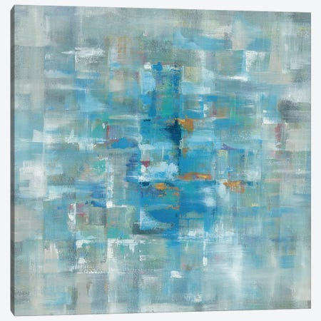 Abstract Squares Canvas Print #WAC4333} by Danhui Nai Canvas Print