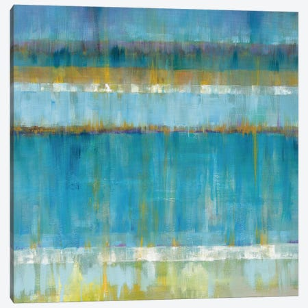 Abstract Stripes Canvas Print #WAC4334} by Danhui Nai Canvas Art