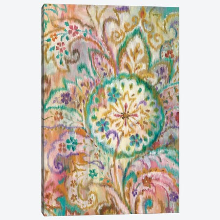 Boho Paisley I Canvas Print #WAC4335} by Danhui Nai Canvas Art