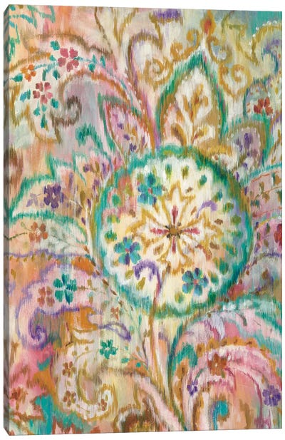 Boho Paisley I Canvas Print #WAC4335
