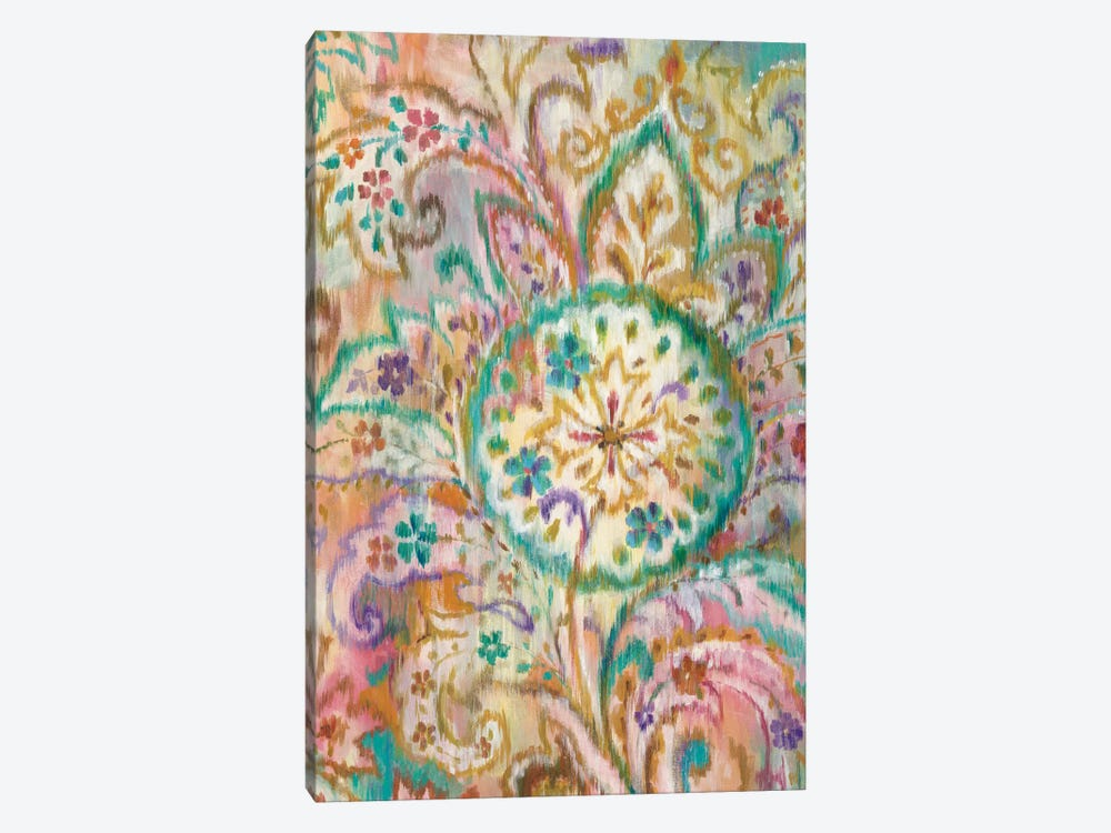 Boho Paisley I by Danhui Nai 1-piece Canvas Wall Art