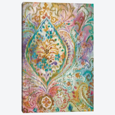 Boho Paisley II Canvas Print #WAC4336} by Danhui Nai Canvas Wall Art