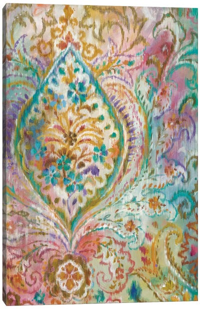 Boho Paisley II Canvas Art Print