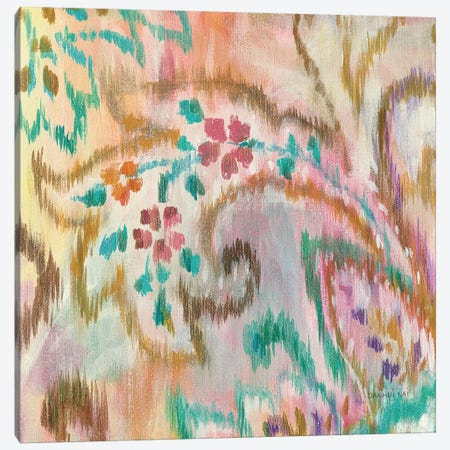 Boho Paisley III Canvas Print #WAC4337} by Danhui Nai Canvas Wall Art