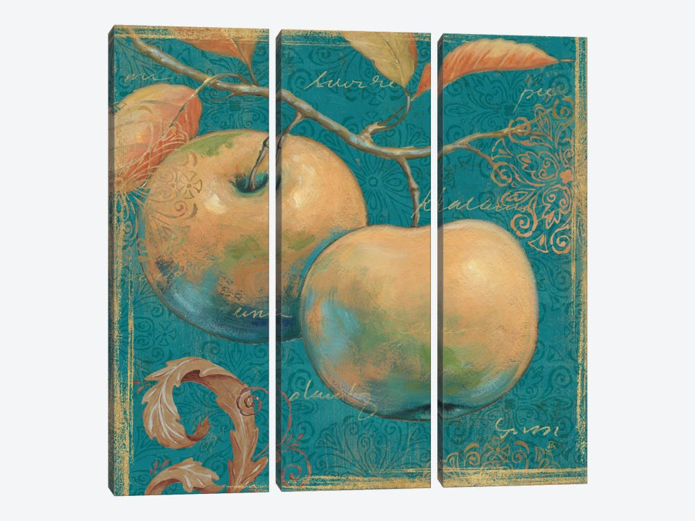 Lovely Fruits II by Daphne Brissonnet 3-piece Canvas Print