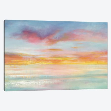 Pastel Sky Canvas Print #WAC4349} by Danhui Nai Canvas Art