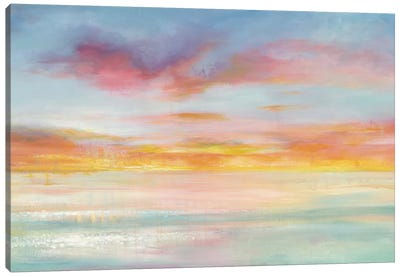 Pastel Sky Canvas Art Print