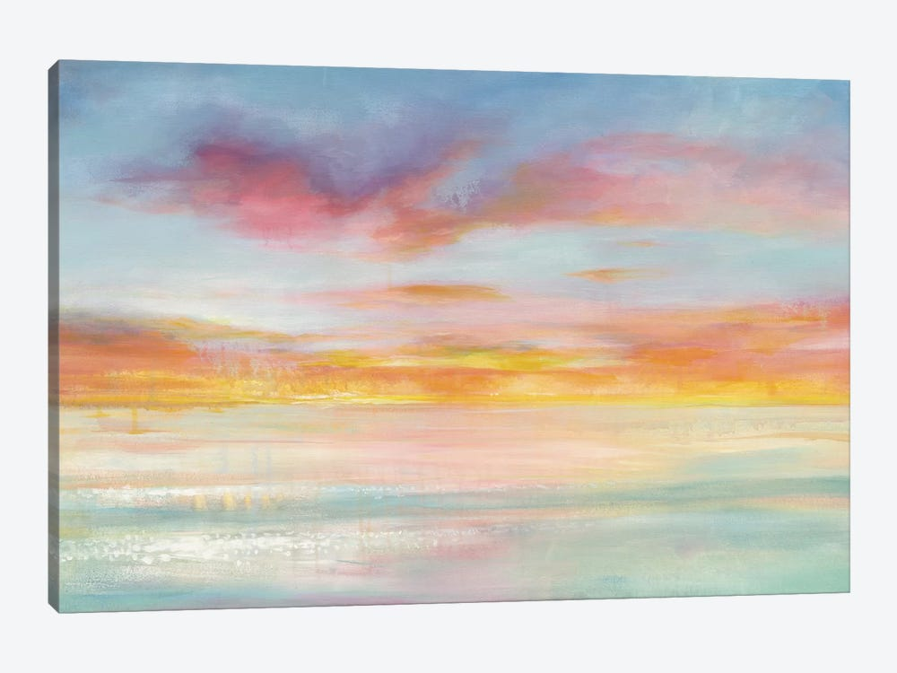 Pastel Sky by Danhui Nai 1-piece Canvas Print