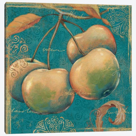 Lovely Fruits III  Canvas Print #WAC434} by Daphne Brissonnet Canvas Wall Art