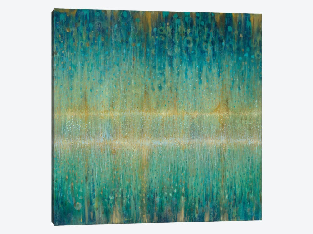 Rain Abstract I by Danhui Nai 1-piece Canvas Print