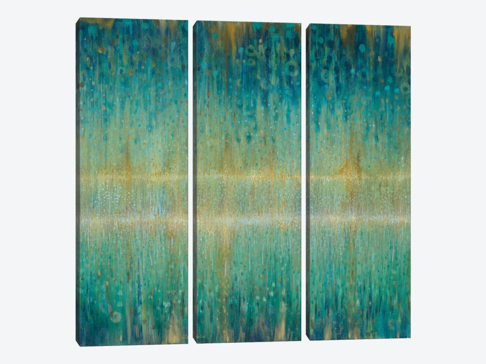 Rain Abstract I by Danhui Nai 3-piece Canvas Print