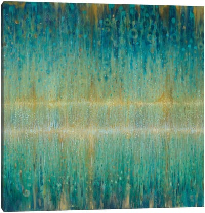 Rain Abstract I Canvas Art Print