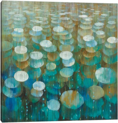 Rain Drops Canvas Art Print