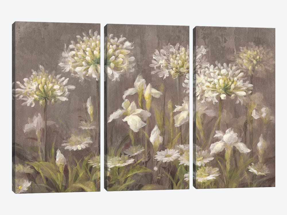 Spring Blossoms by Danhui Nai 3-piece Canvas Art Print
