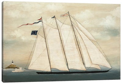 Tall Ship I Canvas Art Print